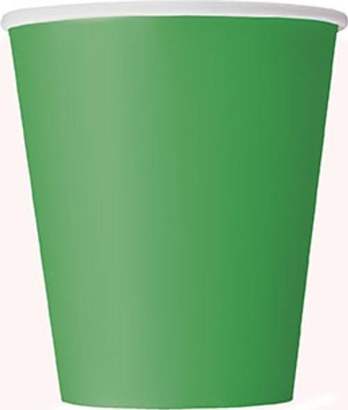 Emerald Green Paper Cups
