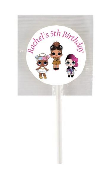 15Pk LOL Surprise Lollipops