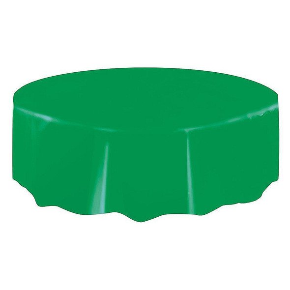 Emerald Green Round Tablecover