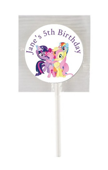15Pk My Little Pony Lollipops