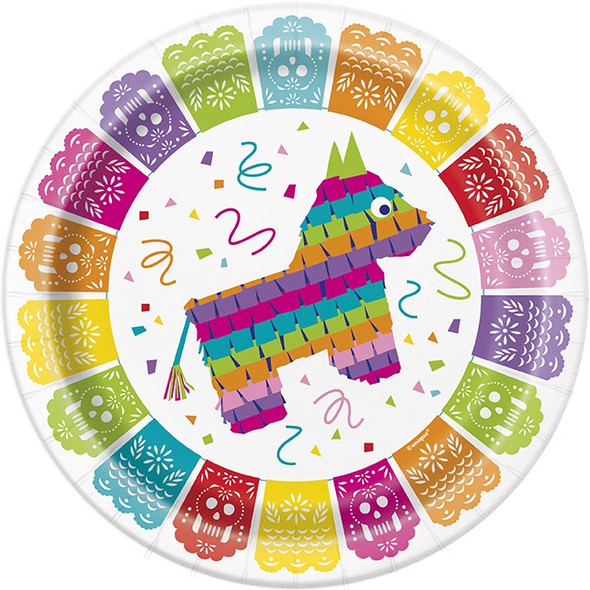 Fiesta Party Plates