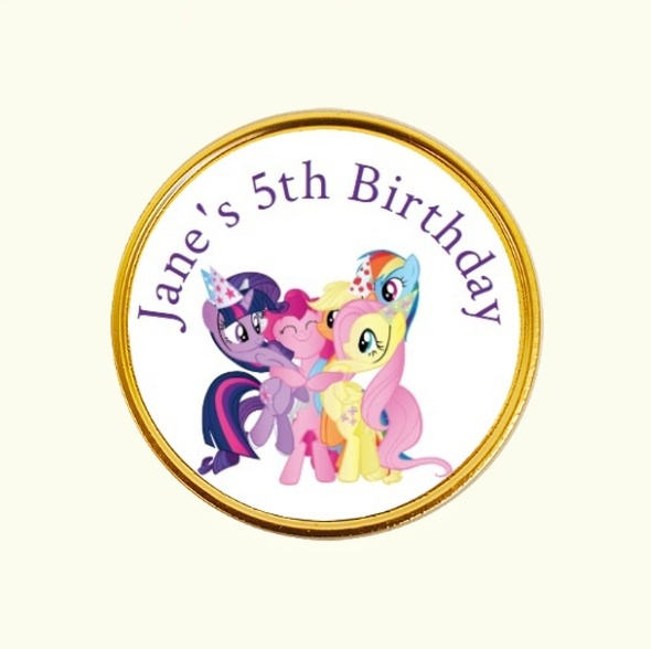 15Pk My Little Pony Coins