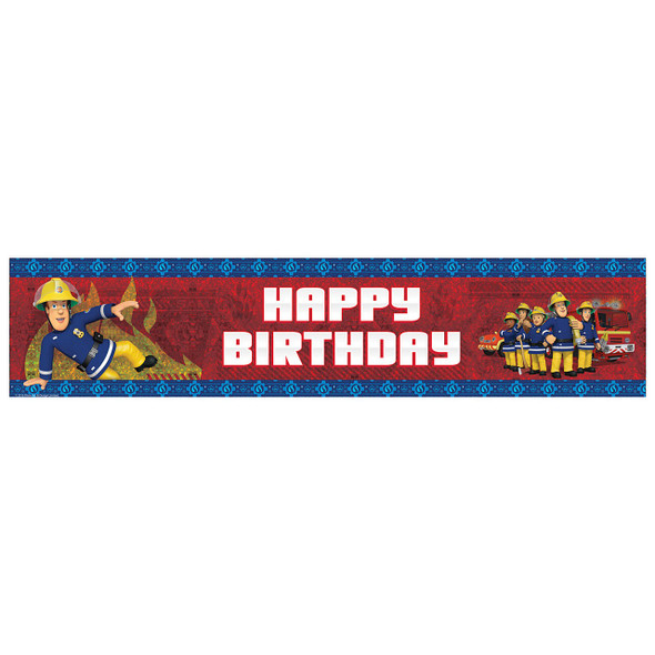 Fireman Sam Foil Banner
