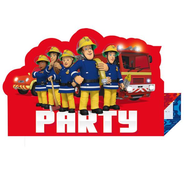 Fireman Sam Invitations
