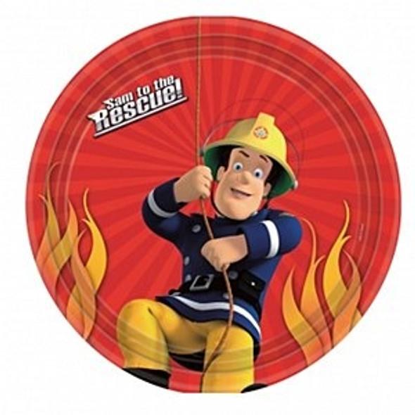 Fireman Sam Plates