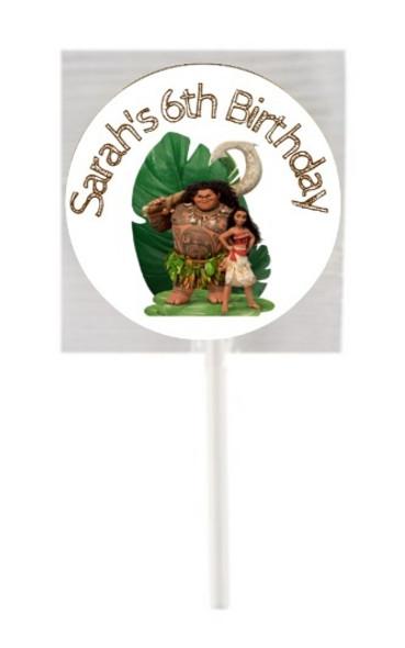 15Pk Moana Lollipops