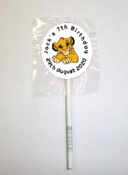 15Pk Simba Lollipops