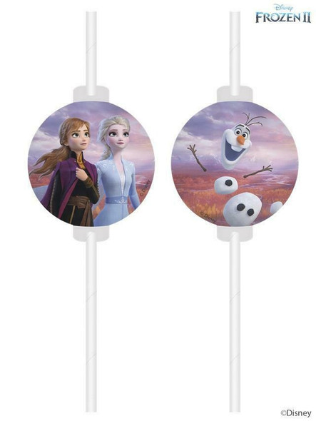 Frozen 2 Party Straws