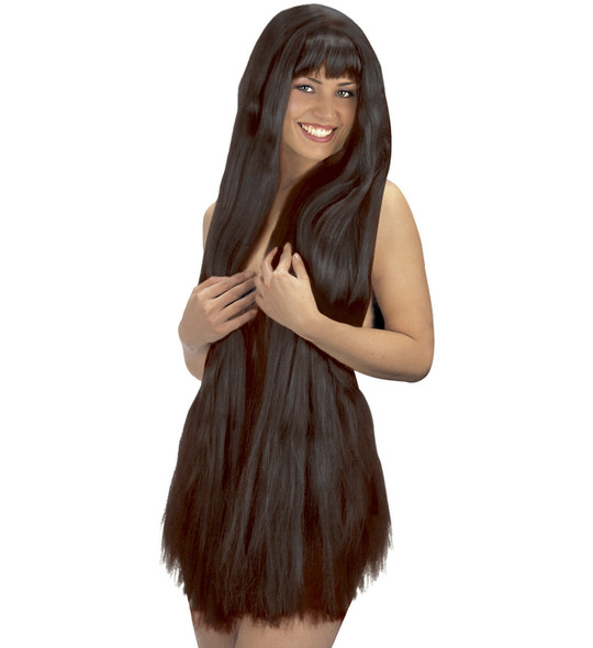 Garden Of Eden Black Wig