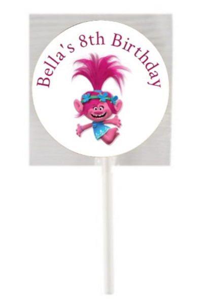 15PK Trolls Lollipops