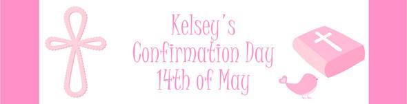 Girls Confirmation Banner