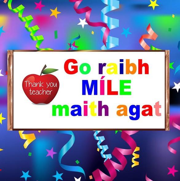Go Raibh Maith Agat Chocolate