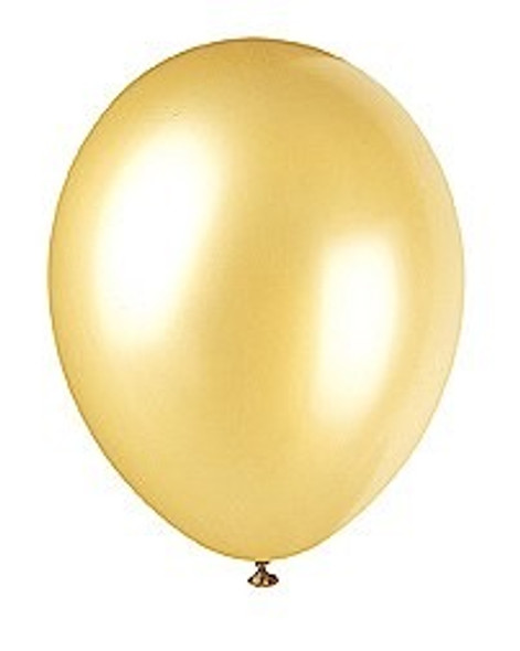Gold Champagne Balloons