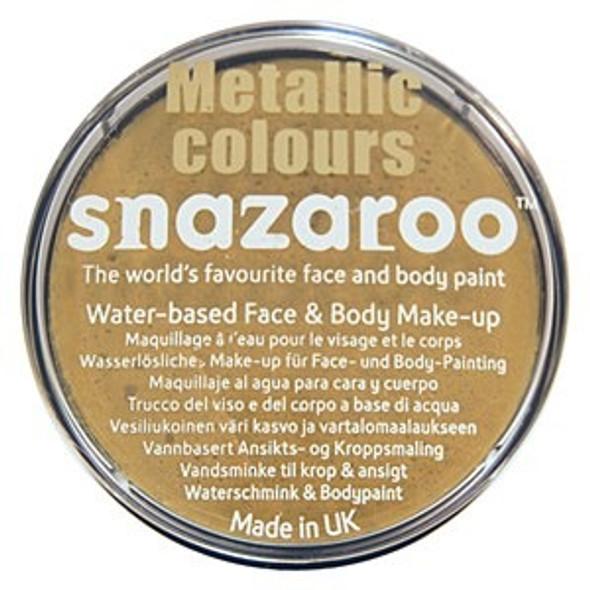 Gold Snazaroo Face Paint