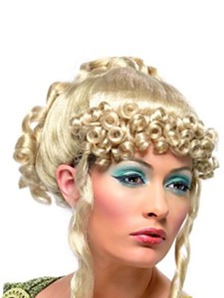 Greek Goddess Wig with Ringlet