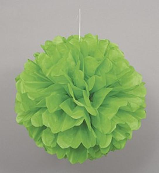 Green Puff Ball Decoration
