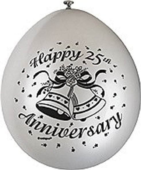 Happy 25th Anniversary Balloon