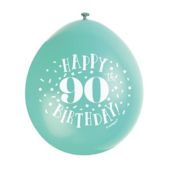 Happy 90th Birthday Balloons
