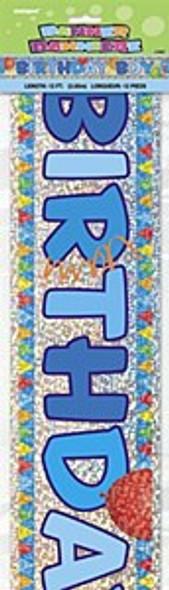 Happy Birthday Boy Banner