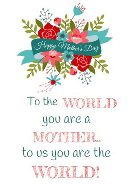 Happy Mothers Day Wine Labels