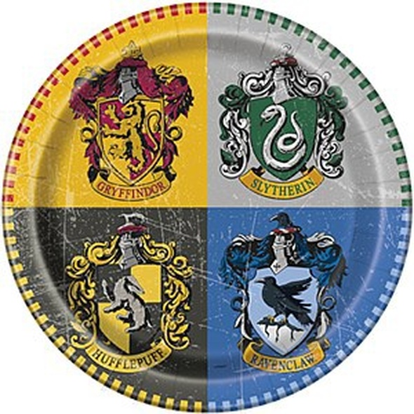 Harry Potter Party Plates