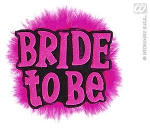 Hen Night Brides Brooch