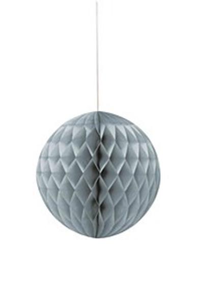 Honeycomb Ball Silver