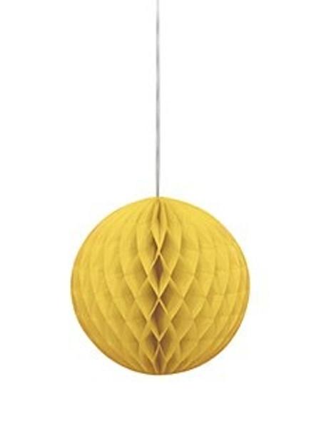Honeycomb Ball Yellow