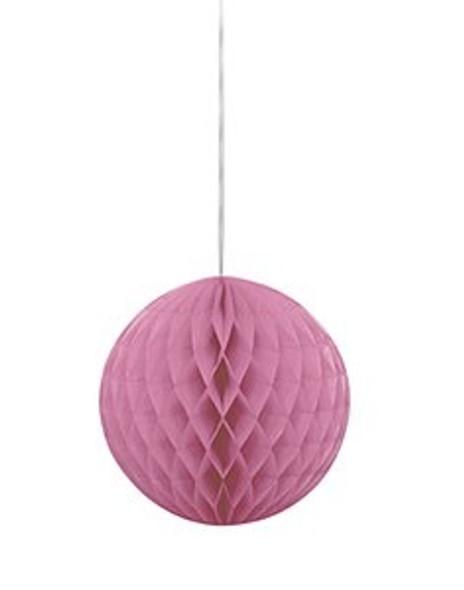 Honeycomb Ball Hot Pink