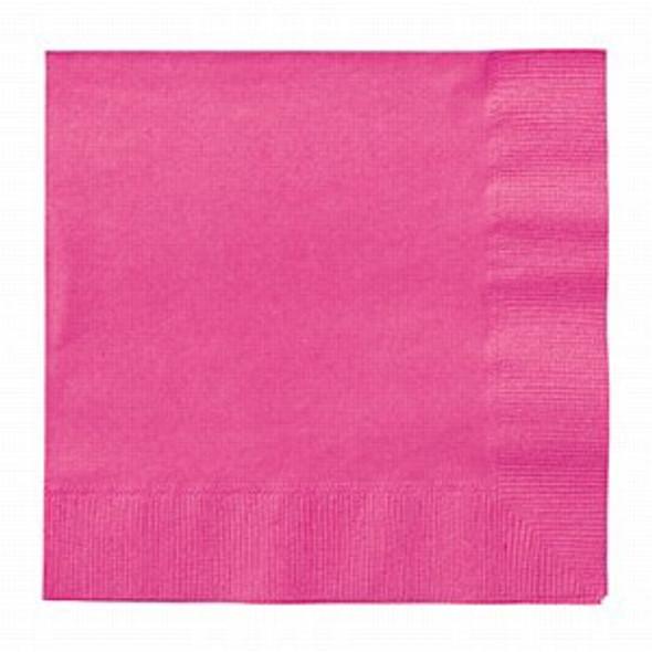 Hot Pink Paper Napkins