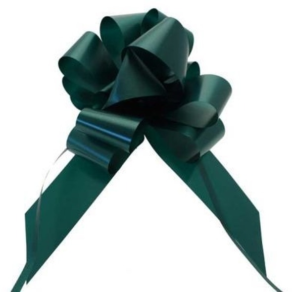Hunter Green Pull Bow Ribbon