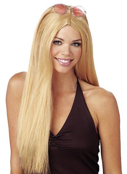 24 Inch Long Blonde Wig