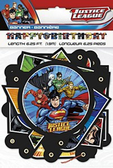 Justice League Party Banner