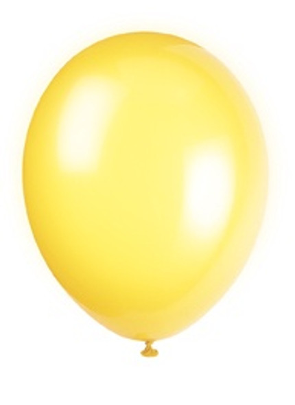 Lemon Yellow Balloons