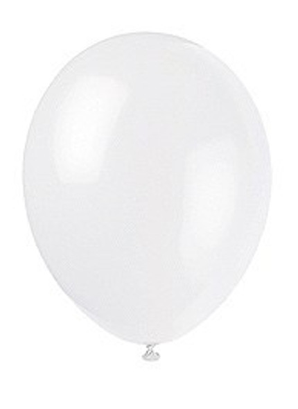 Linen White Latex Balloons