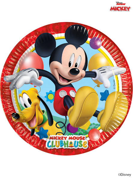 Mickey Mouse Party Plates