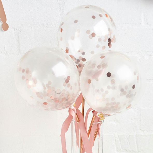 Mini Confetti Balloon Wands