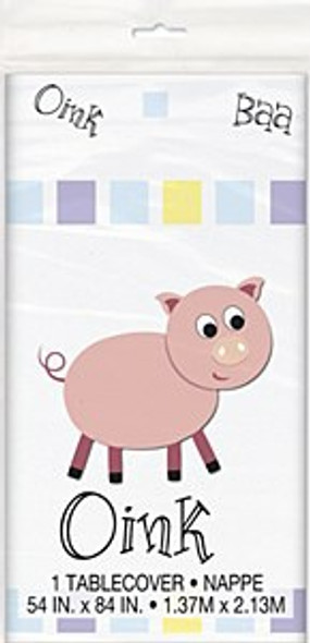 Pastel Farm Tablecover
