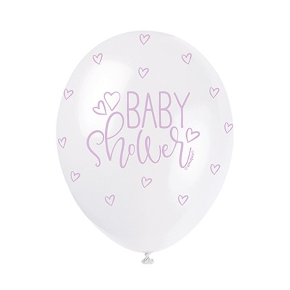 Pastel Baby Shower Balloons