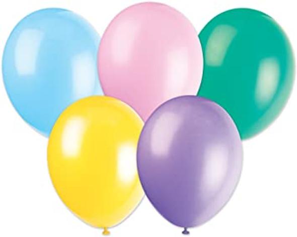 Pastel Assortment Balloons