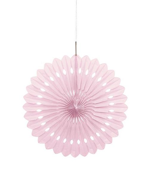 Pastel Pink Paper Fan