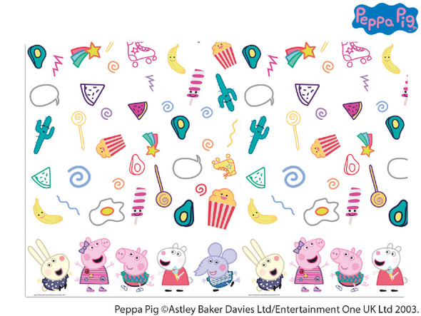 Peppa Pig Messy Tablecover