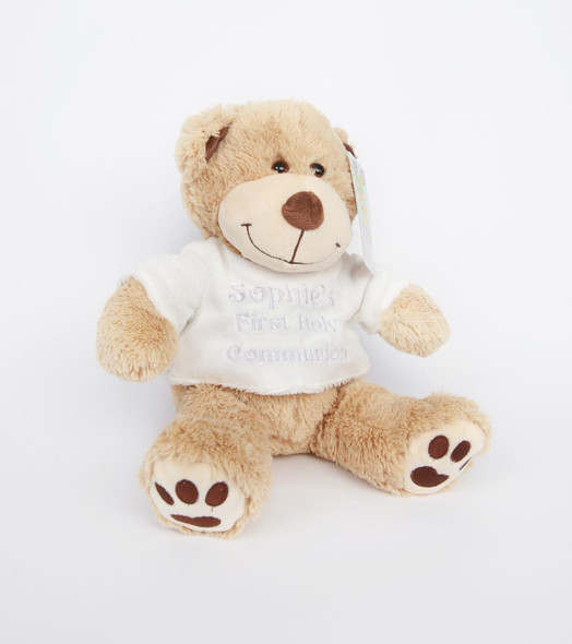 Personalised Communion Teddy