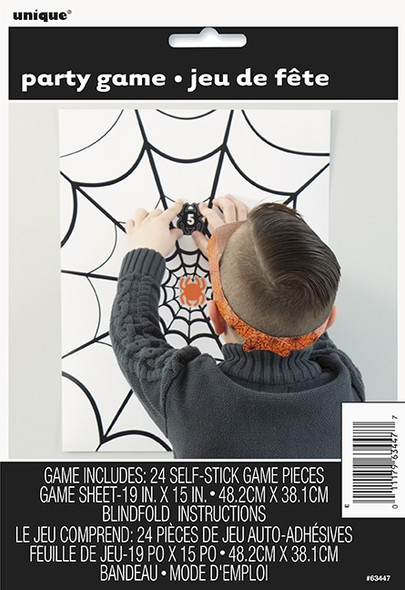 Pin The Spider Game