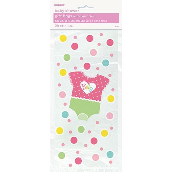 Pink Dots Baby Shower Bag