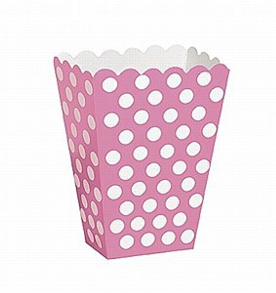 Pink Dots Treat Boxes