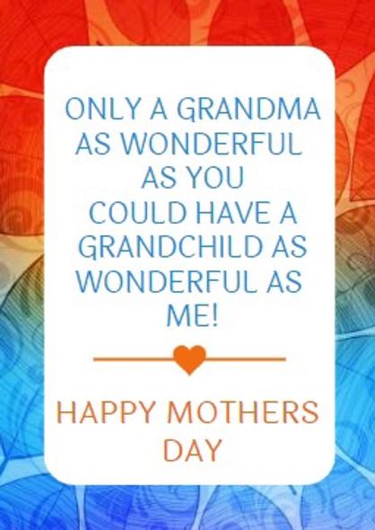 4PK Nan Mothers Day Labels