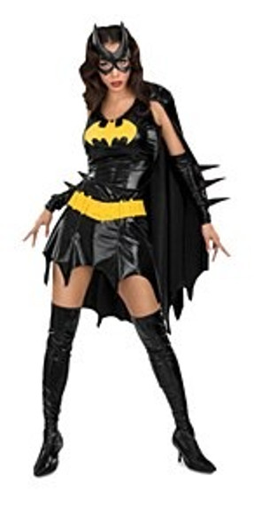 Plus Size Bat Girl Costume