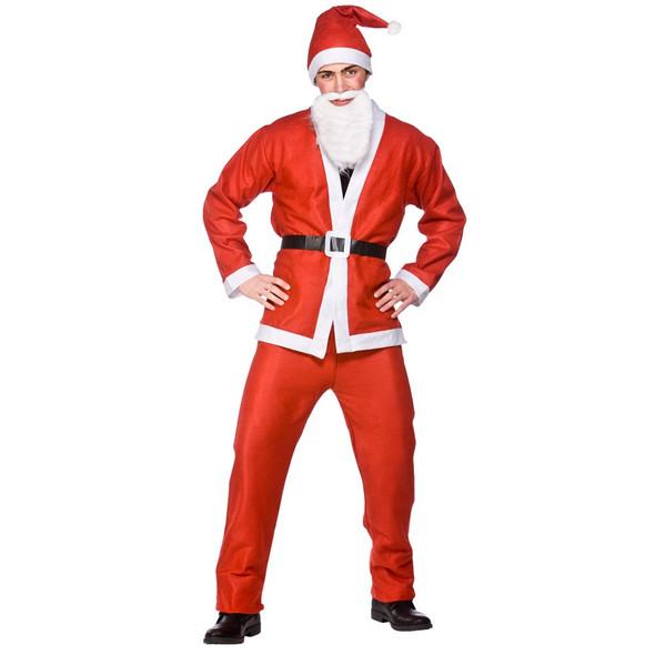 Plus Size Santa Suit