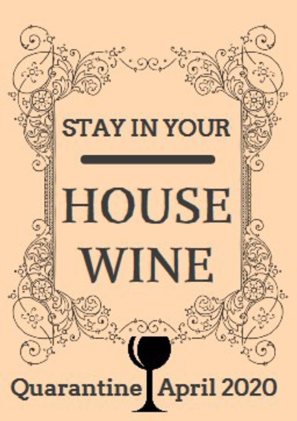 4Pk Stay In Your House Labels